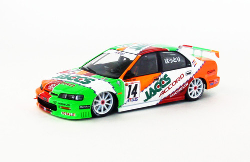 Ebbro 45039 Honda JACCS Mugen Accord #14 Japan JTCC 1996 1/43 Scale