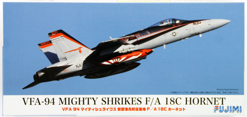 Fujimi F-SP VFA-94 Mighty Shrikes F/A 18C Hornet 1/72 Scale Kit