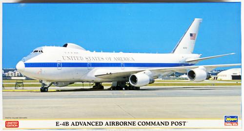 Hasegawa 10809 E-4B Advanced Airborne Command Post (Limited Edition) 1/200 Scale Kit