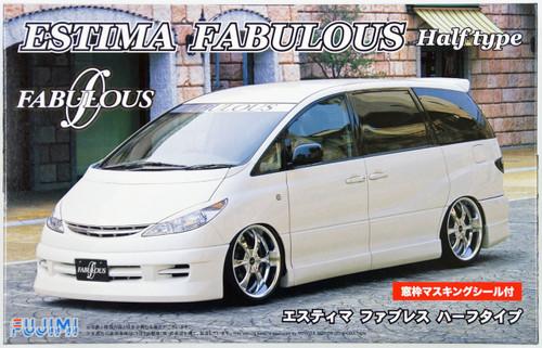 Fujimi ID-71 Toyota Estima Fabulous Half Type 1/24 Scale Kit 039060