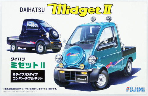 Fujimi ID-114 Daihatsu Midget II R Type or D Type 1/24 Scale convertible Kit