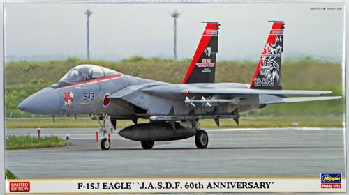 Hasegawa 02131 F-15J Eagle JASDF 60th Anniversary 1/72 Scale Kit