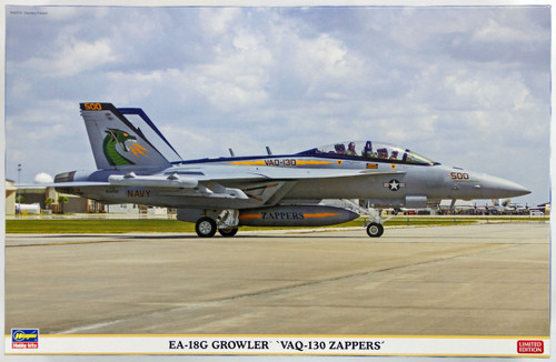 Hasegawa 07390 EA-18G Growler VAQ-130 Zappers 1/48 Scale Kit