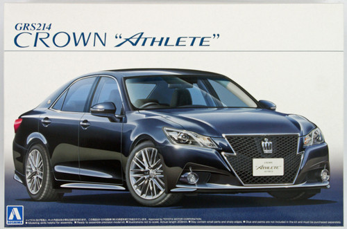 Aoshima 08485 GRS214 Toyota Crown Athlete G 2012 1/24 Scale Kit