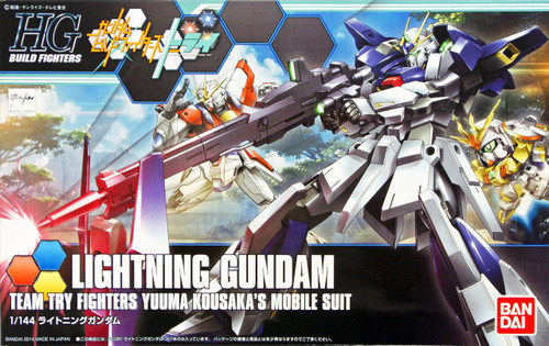 Bandai HG Build Fighters 020 LIGHTNING Gundam 1/144 Scale Kit