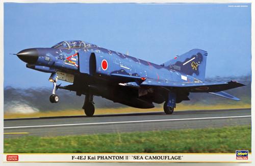 Hasegawa 07392 JASDF F-4EJ Kai Phantom II Sea Camouflage 1/48 Scale Kit