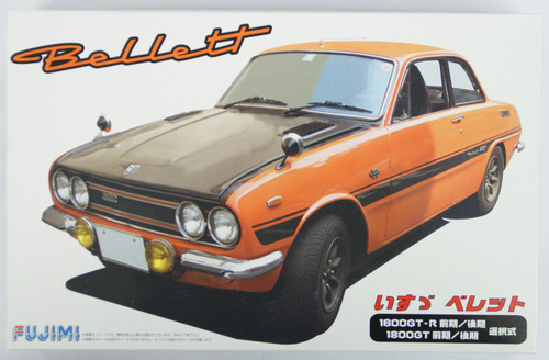 Fujimi ID-86 Isuzu Bellett 1600GT-R or 1800GT 1/24 Scale convertible Kit 039145
