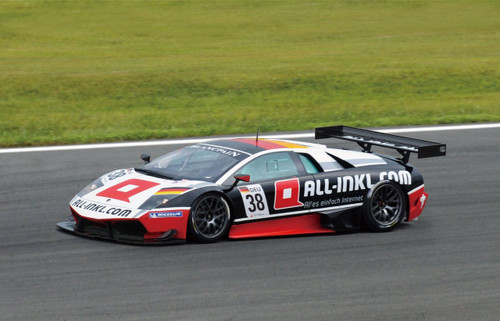 Aoshima 07143 Lamborghini Murcielago R-SV 2011 GT1 Zolder #38 1/24 Scale Kit