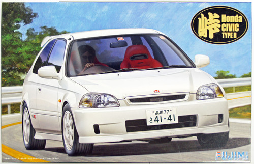 Fujimi TOHGE-11 Honda Civic Type R 1/24 Scale Kit