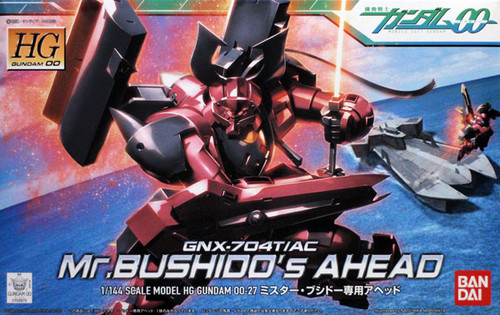 Bandai HG OO 27 Gundam Mr. BUSHIDO'S AHEAD 1/144 Scale Kit