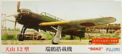 Fujimi C09 B6N2 Tenzan (JILL) Type 12 1/72 Scale Kit 722573