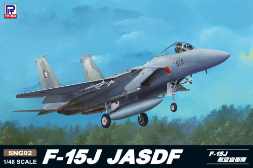 Pit-Road (Greatwall Hobby) SNG02 F-15J JASDF 1/48 Scale Kit