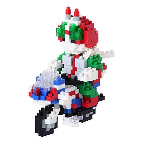 Kawada NBTN-008 nanoblock Kamen Masked Rider V3 & Hurricane