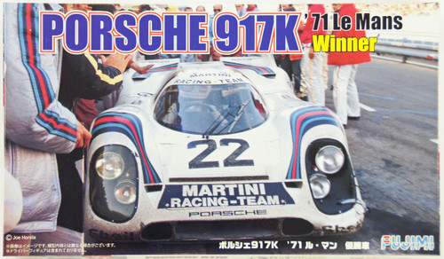 Fujimi RS-88 Porsche 917K 1971 Le Mans Winner Car 1/24 Scale Kit 126142
