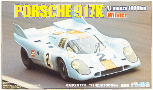 Fujimi RS-98 Porsche 917K 1971 Monza 1000km Winner Car 1/24 Scale Kit