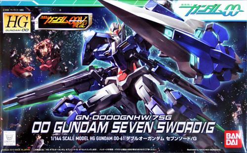 Bandai HG OO 61 Gundam SEVEN SWORD/G 1/144 Scale Kit