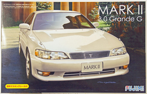 Fujimi ID-118 Toyota Mark II 3.0 Grande G 1/24 Scale Kit