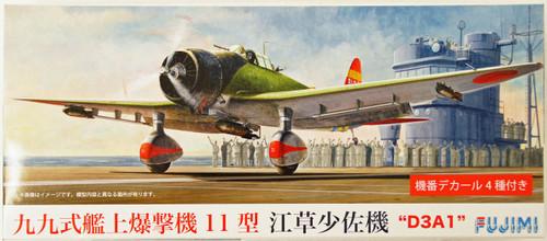 Fujimi C35 Aichi D3A1 Type 11 (Val) 1/72 Scale Kit