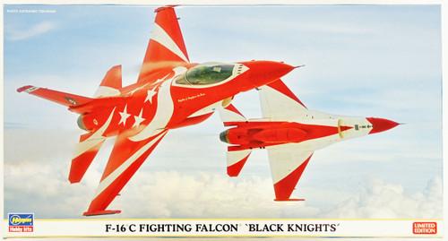Hasegawa 07395 F-16C Fighting Falcon Black Knights 1/48 Scale Kit