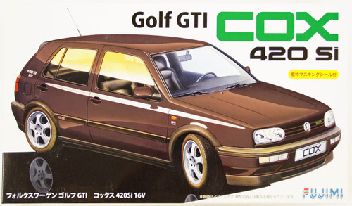 Fujimi RS-47 Volkswagen Golf GTI COX 420Si 16V 1/24 Scale Kit 126180