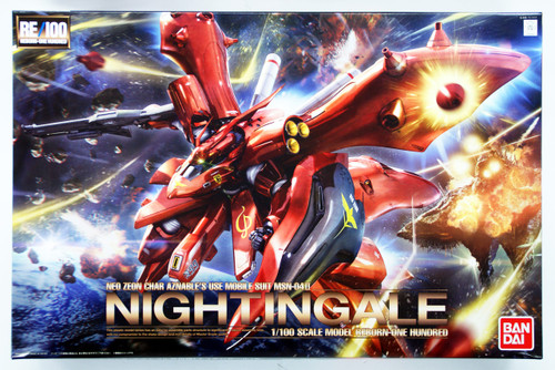 Bandai RE/100 920829 Gundam Nightingale 1/100 Scale Kit