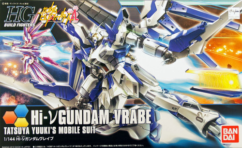 Bandai HG Build Fighters 029 HI-NU Gundam VRABE 1/144 Scale Kit