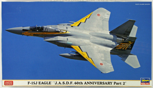 Hasegawa 02139 F-15J Eagle J.A.S.D.F 60th Anniversary Part 2 1/72 Scale Kit