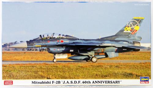 Hasegawa 02141 Mitsubishi F-2B J.A.S.D.F 60th Anniversary 1/72 Scale Kit
