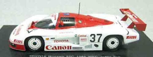 Ebbro 45018 Toyota Ikuzawa 85C 1985 WEC Japan Fuji No.37 1/43 Scale