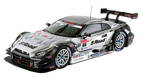 Ebbro 45062 S Road Mola GT-R Super GT500 2014 No.46 Silver 1/43 Scale