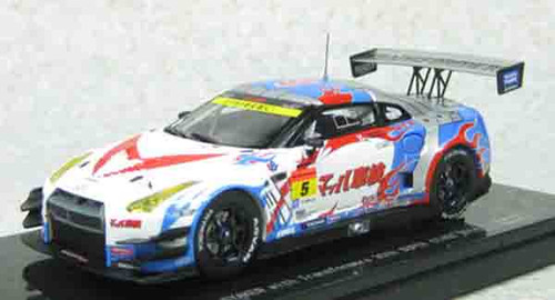 Ebbro 45077 MACH SYAKEN with Transformers 30th SUPER GT300 2014 No.5 1/43 Scale