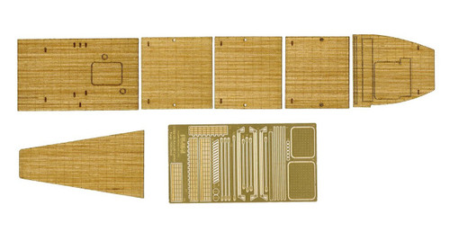 Fujimi 1/700 Gup104 Wooden Deck Seal (IJN Aircraftcarrier Kaga) 1/700 Scale