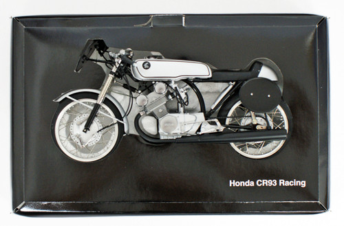 Ebbro 10028 Honda CR93 Racing Bike (Black) 1/10 Scale