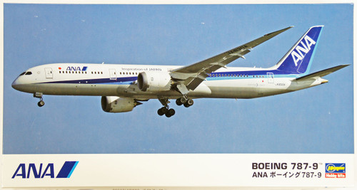 Hasegawa 21 ANA All Nippon Airways Boeing 787-9 1/200 Scale Kit