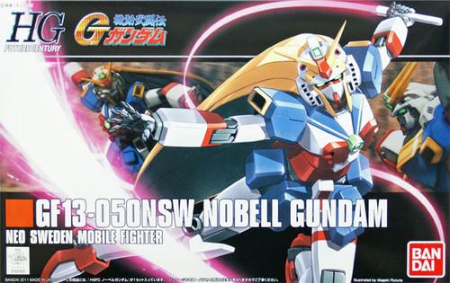 Bandai HGUC 119 Gundam GF13-050NSW NOBELL Gundam 1/144 Scale Kit