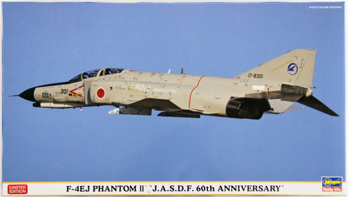 Hasegawa 02147 F-4EJ Phantom II JASDF 60th Anniversary 1/72 Scale Kit