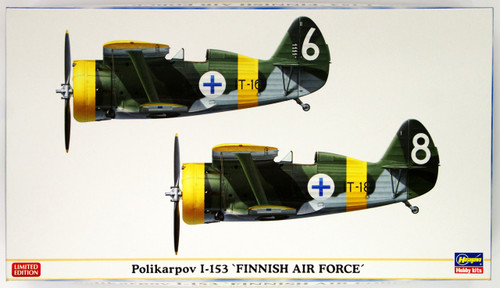 Hasegawa 02144 Polikarpov I-153 Finnish Air Force 1/72 Scale Kit