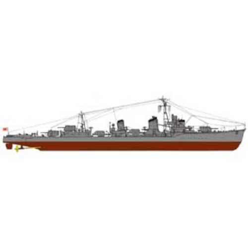 Pit-Road Skywave SPW-34 IJN Destroyer Hayashimo 1/700 Scale Kit