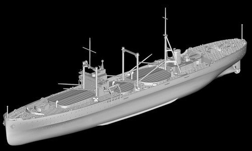 Pit-Road Skywave W-160 IJN Special Cargo Ship Kashino 1/700 Scale Kit