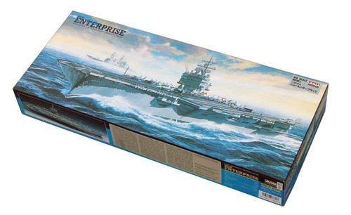 Arii 933817 New USS Enterprise Aircraft Carrier CVN65 1/600 Scale Kit (Microace)