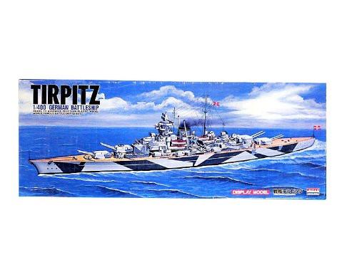 Arii 933831 New Enterprise TIRPITZ German BattleShip 1/400 Scale Kit (Microace)