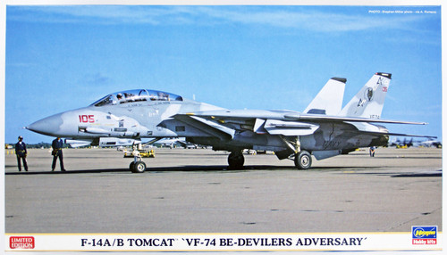 Hasegawa 02152 F-14A/B Tomcat VF-74 Be-devilers advensary 1/72 Scale Kit