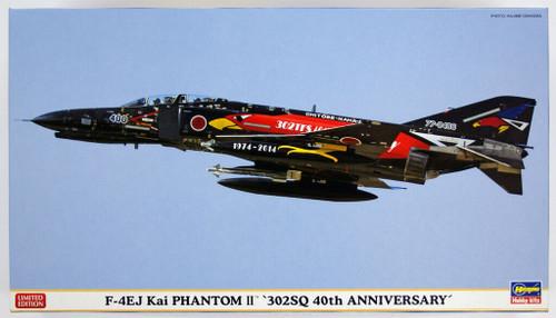 Hasegawa 02161 F-4EJ Kai Phantom II 302SQ 40th Anniversary 1/72 Scale Kit