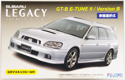 Fujimi ID-77 Subaru Legacy Touring Wagon GT-B E-tune II or Version B 1/24 Scale convertible Kit 039312