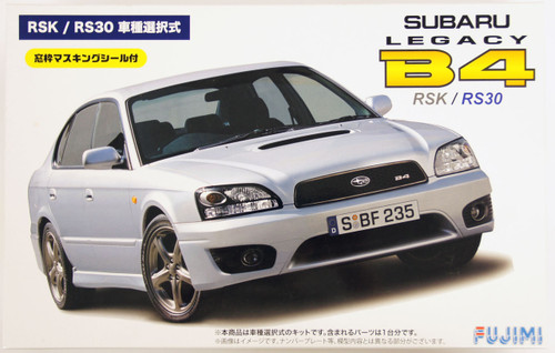 Fujimi ID-156 Subaru Legacy B4 RSK or RS-30 1/24 Scale convertible Kit 039329