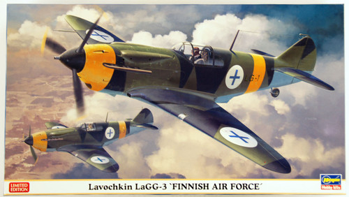 Hasegawa 07400 Lavochkin LaGG-3 Finnish Air Force 1/48 Scale Kit