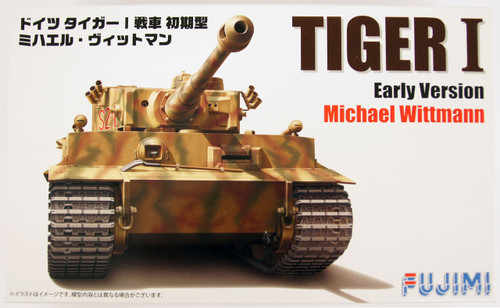 Fujimi 72M16 German Tiger I Early Version Michael Wittmann 1/72 Scale Kit