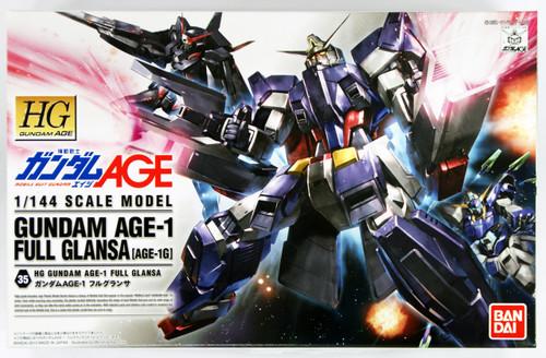 Bandai Gundam HG AGE-35 AGE-1 Full Glansa (Age-1G)1/144 Scale Kit