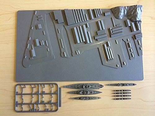 Fujimi Gunko 01 Yokosuka Naval Port 1/3000 Scale Kit