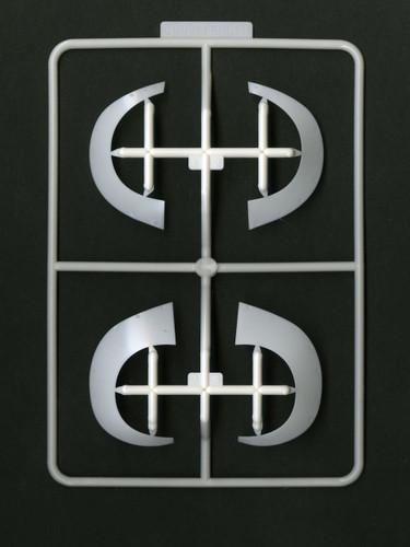 Fujimi KR-12 Fender Set 12 Over Fender Parts Set & Special Decal Set 1/24 Scale